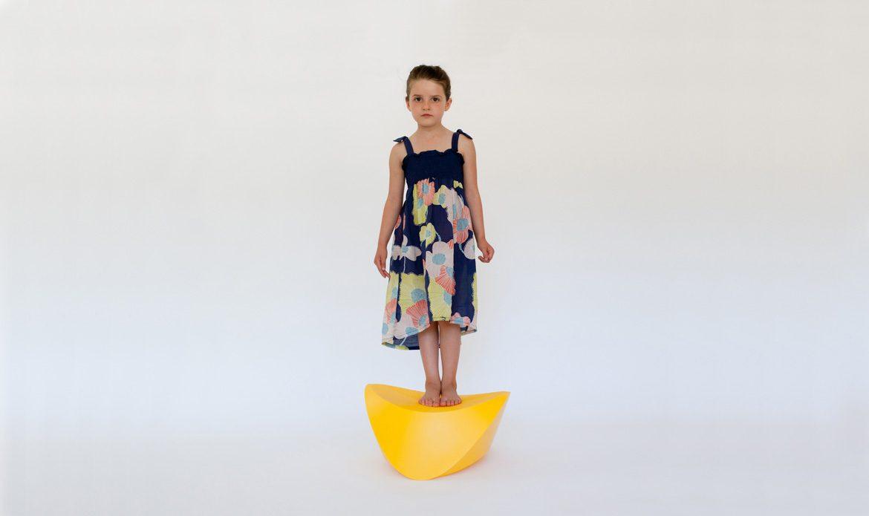 Hut-Hut Kids resin Yellow