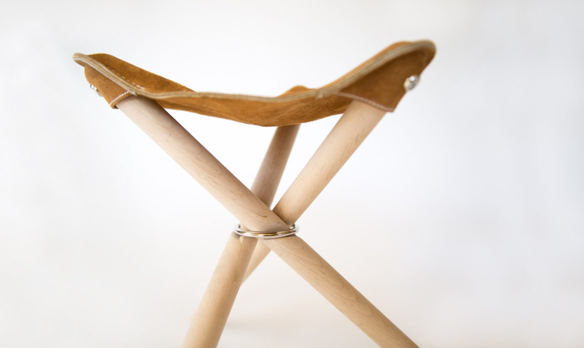 Backcountry Stool detail