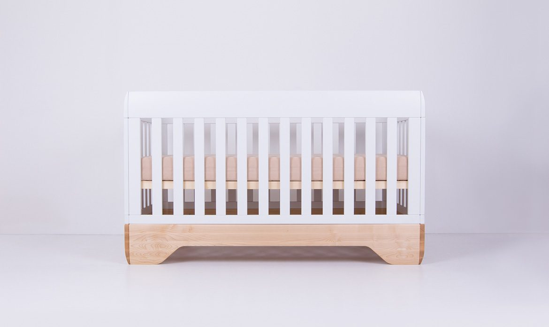 Echo Crib White Mattress Support High Position