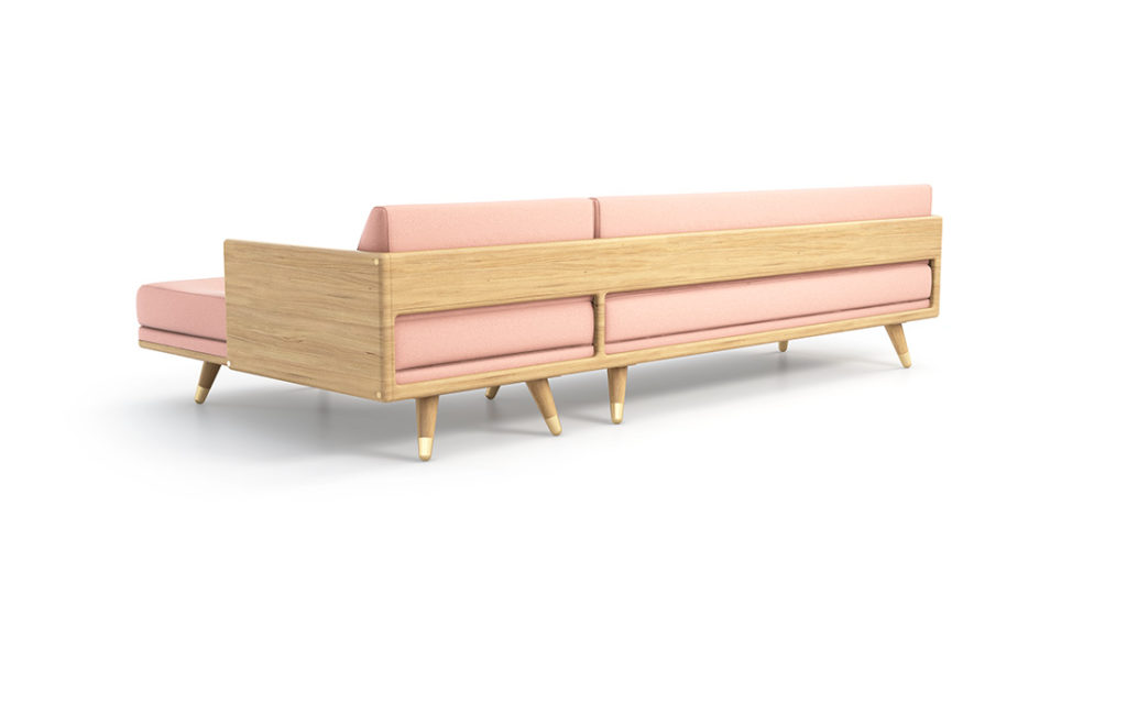 No. 5 Series Sofa rear view