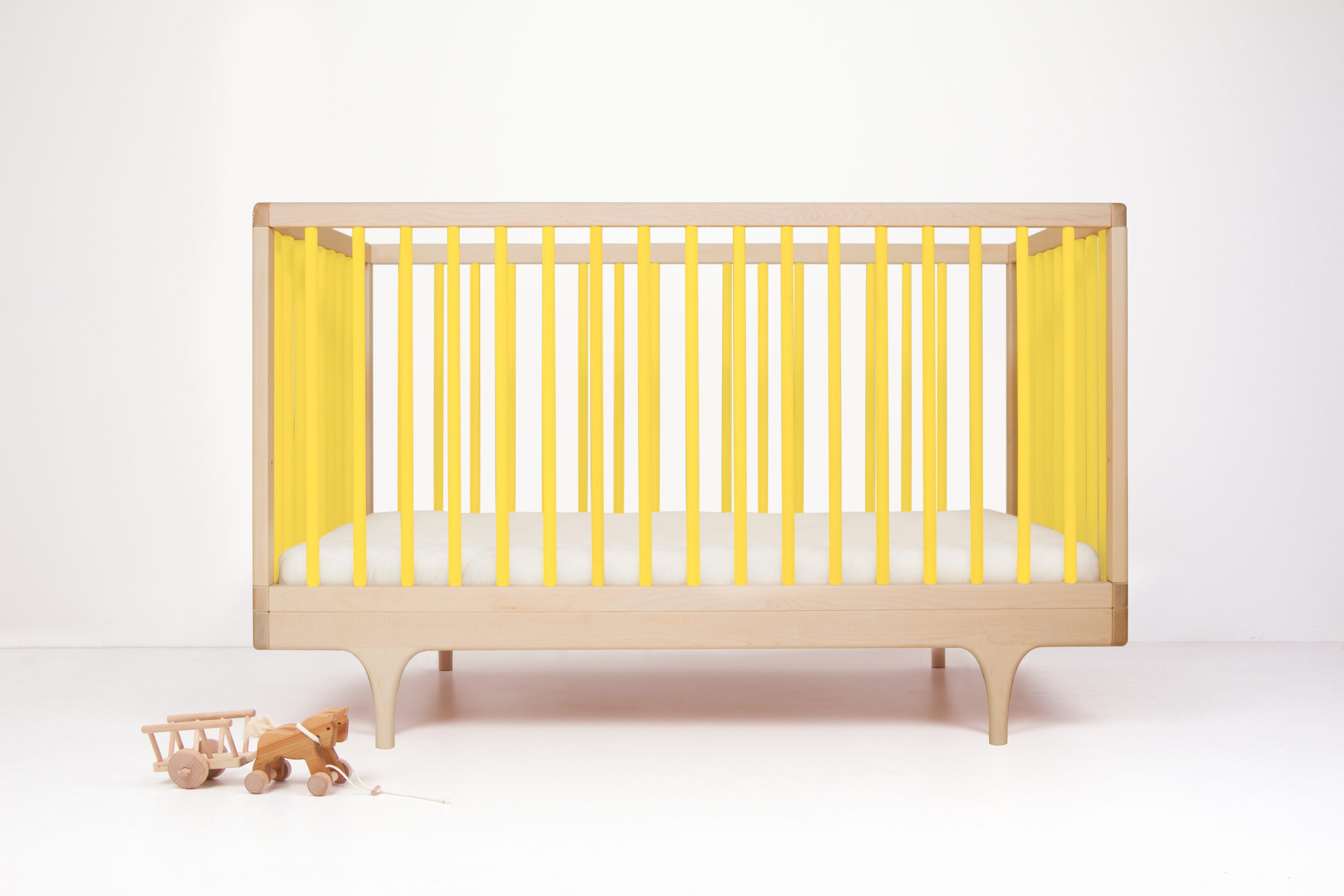 Caravan Crib Yellow