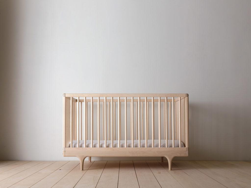 Caravan Crib Modern Solid Wood