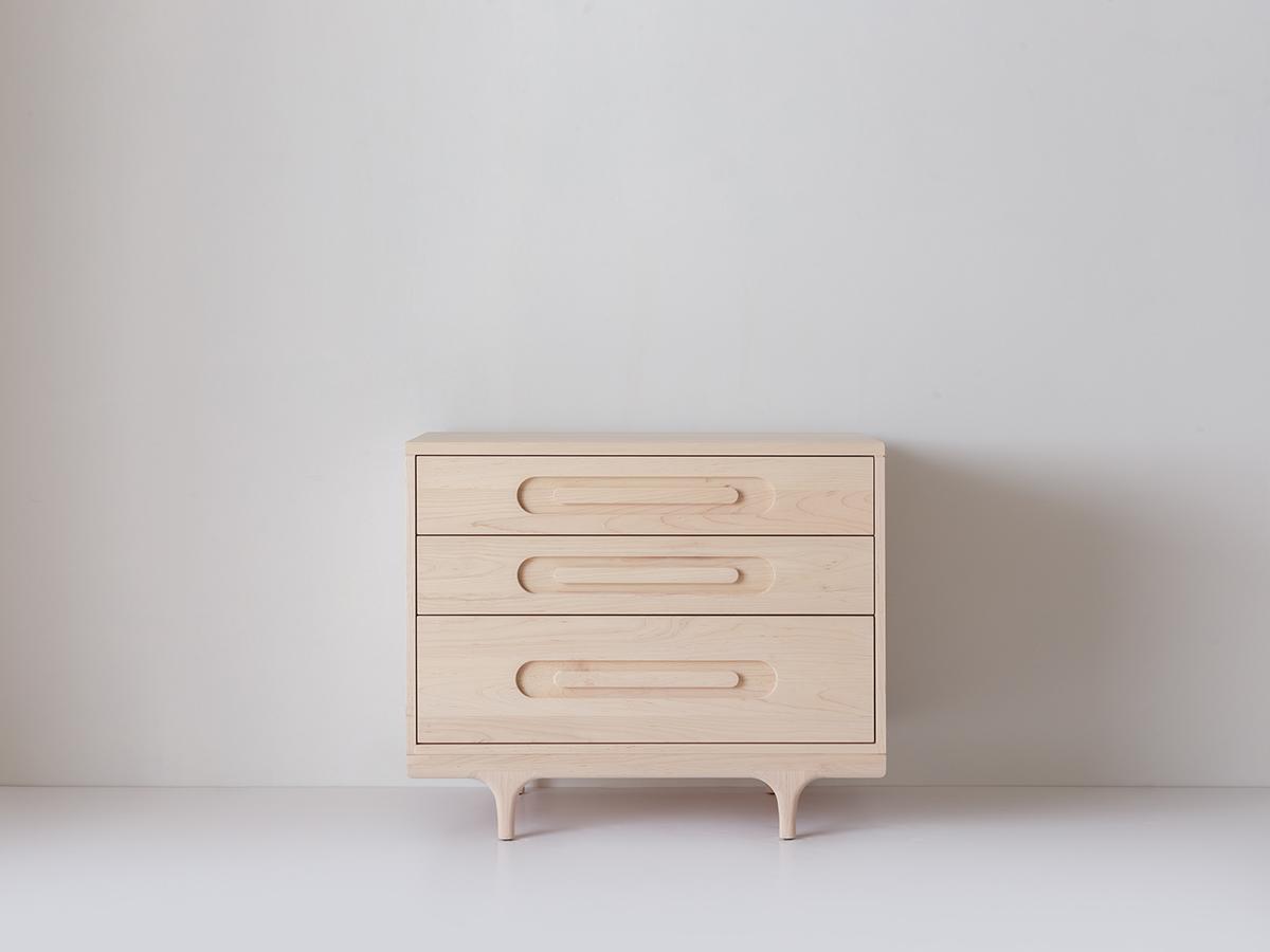 Caravan Dresser Solid Maple
