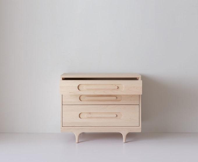 Caravan Crib Modern Solid Wood Convertible Crib Kalon