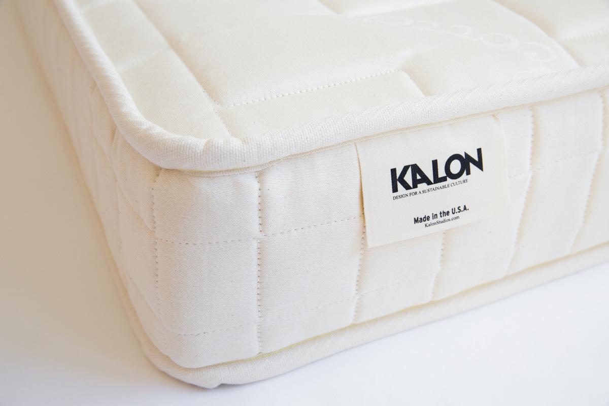 Organic cotton and latex crib mattress
