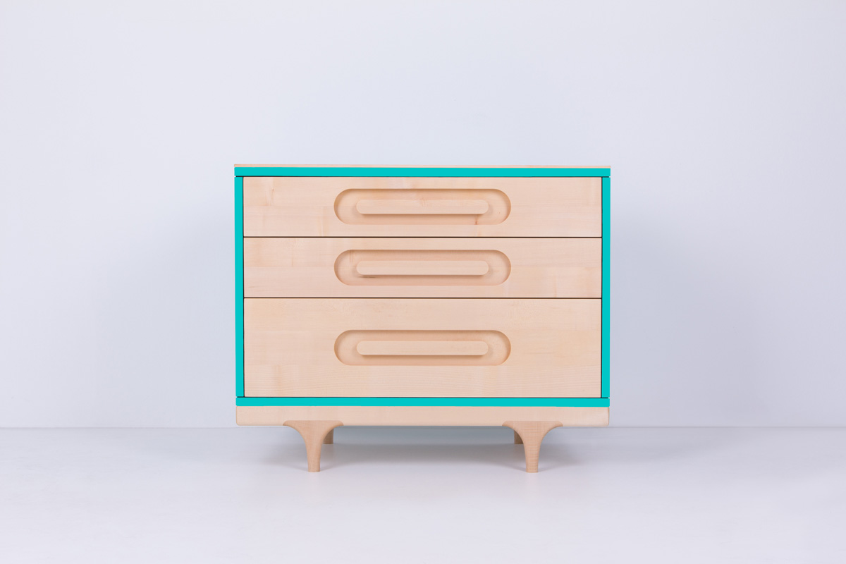 Caravan Dresser Blue