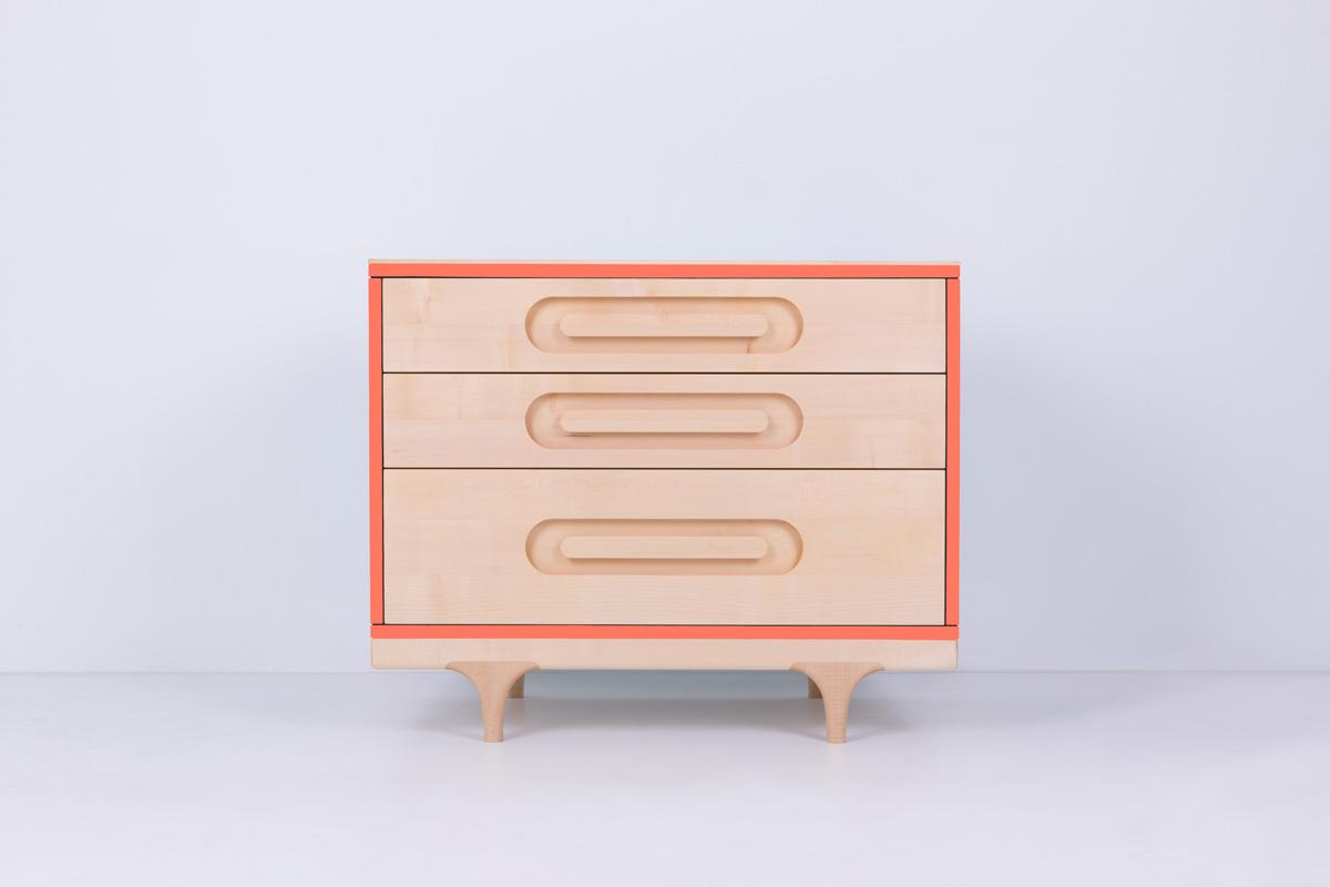 Caravan Dresser Coral