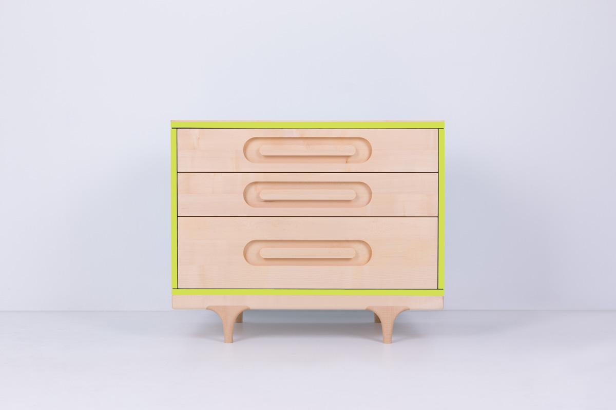 Caravan Dresser Green