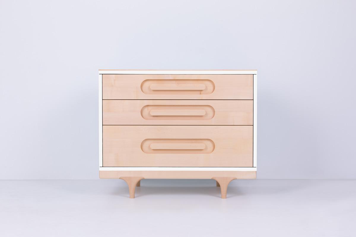 Caravan Dresser White