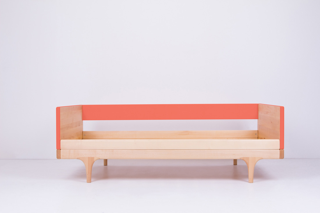 Coral Caravan Divan Toddler Bed