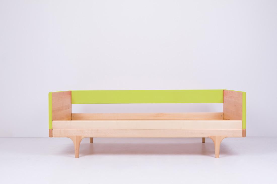 Green Caravan Divan Toddler Bed