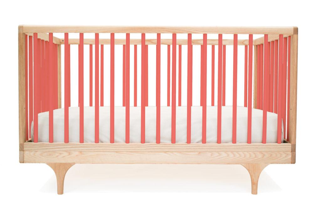 Coral Caravan Crib