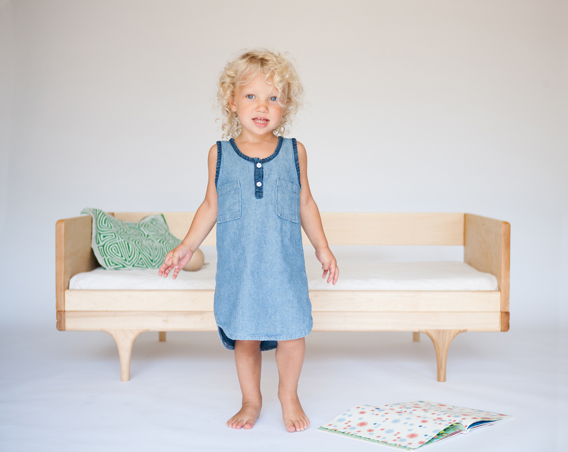 Caravan Divan Toddler Bed 'in the wild'