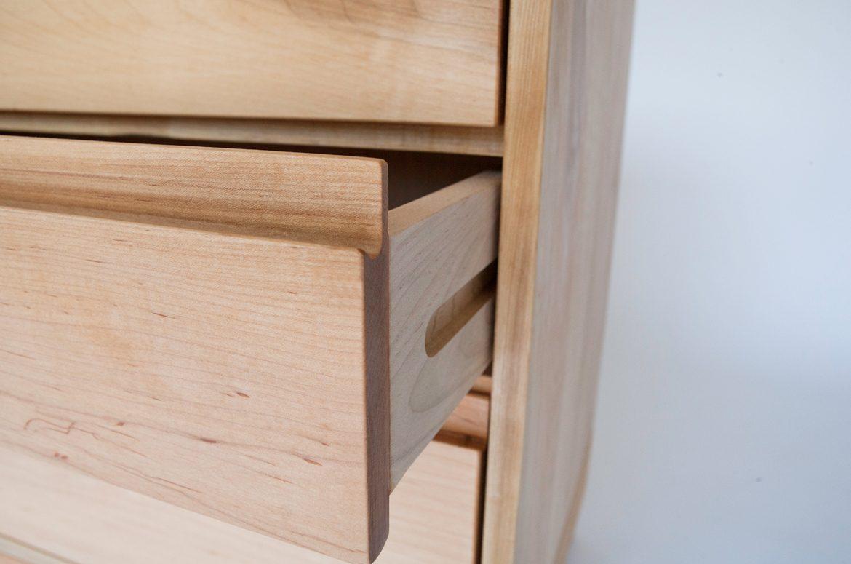 Echo Dresser drawer construction detail