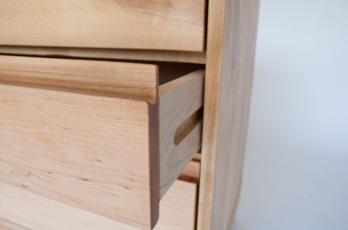 Echo Dresser drawer construction detail