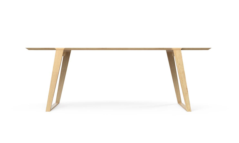 Isometric Table in Ash Medium