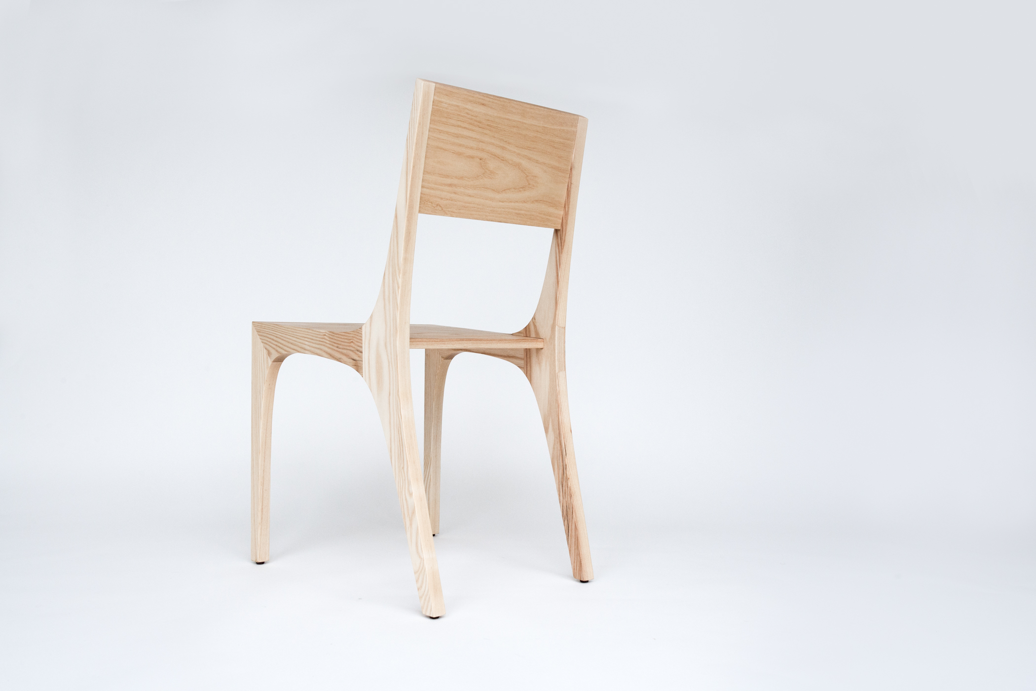 Isometric Chair in Ash
