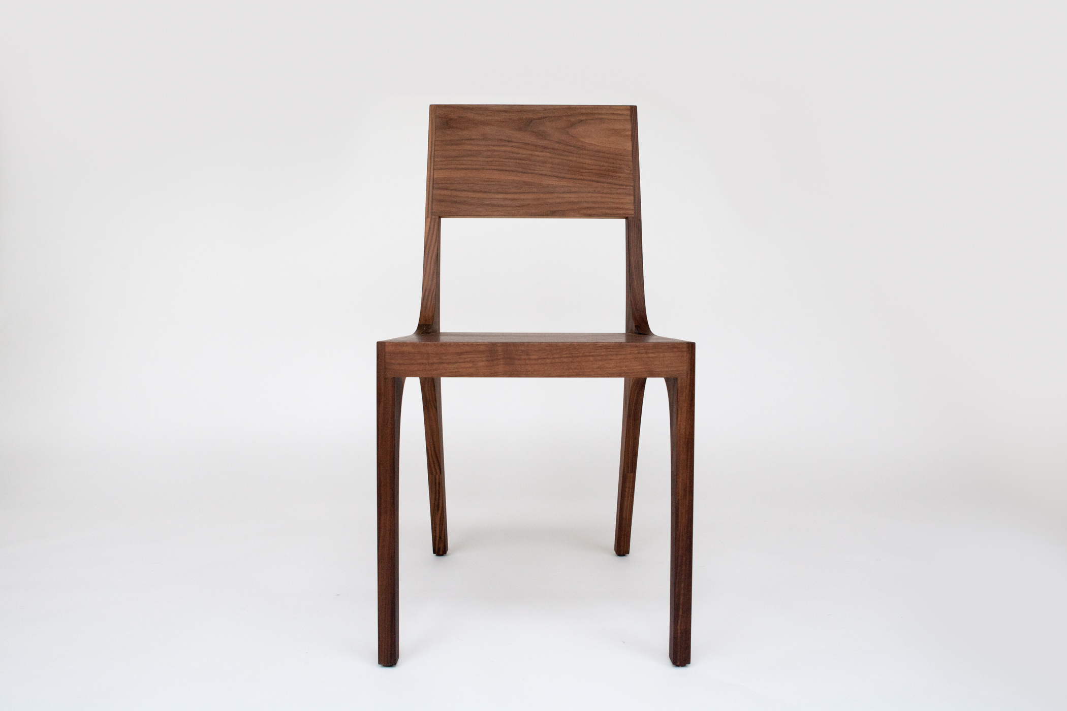 Isometric Chair in Black Walnut