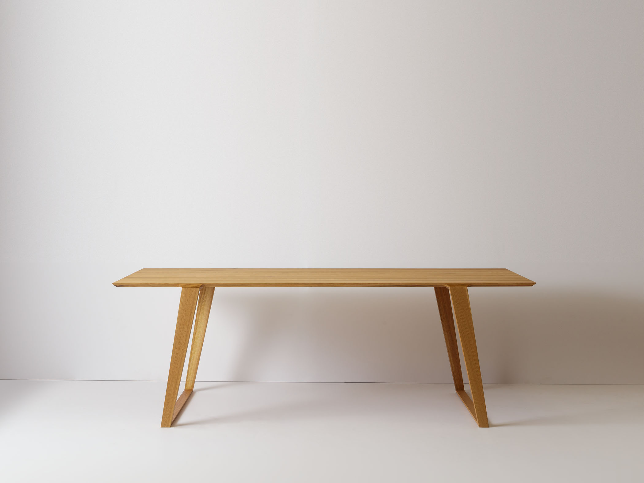 Isometric Table Modern Wood Dining Table or Desk