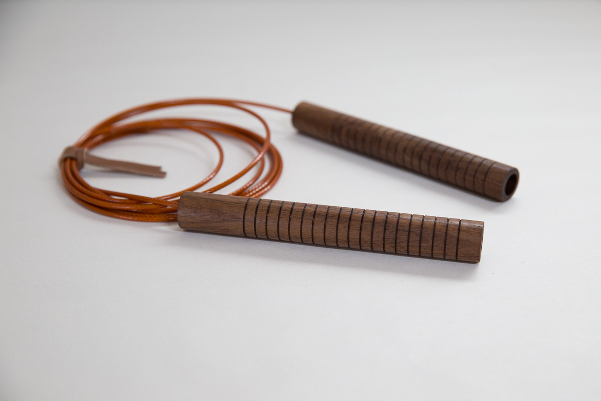 Jump Rope in Black Walnut