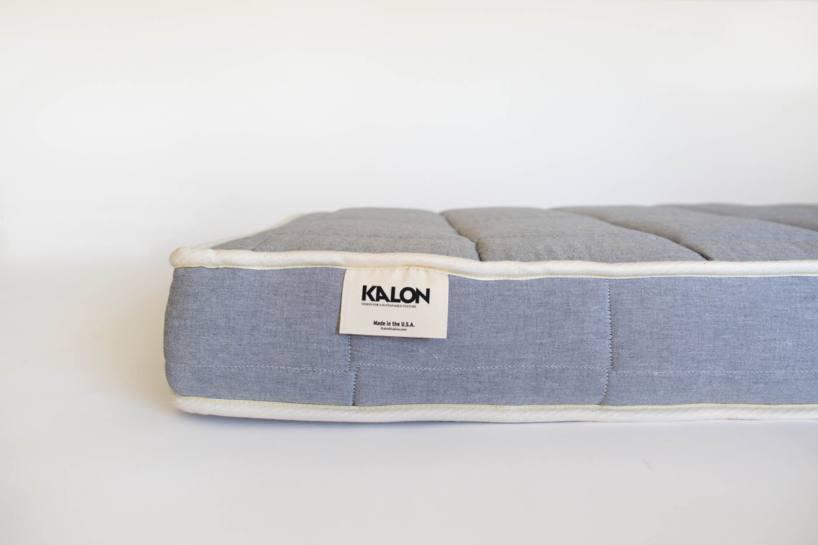 Dream No. 1 Mattress in Blue detail