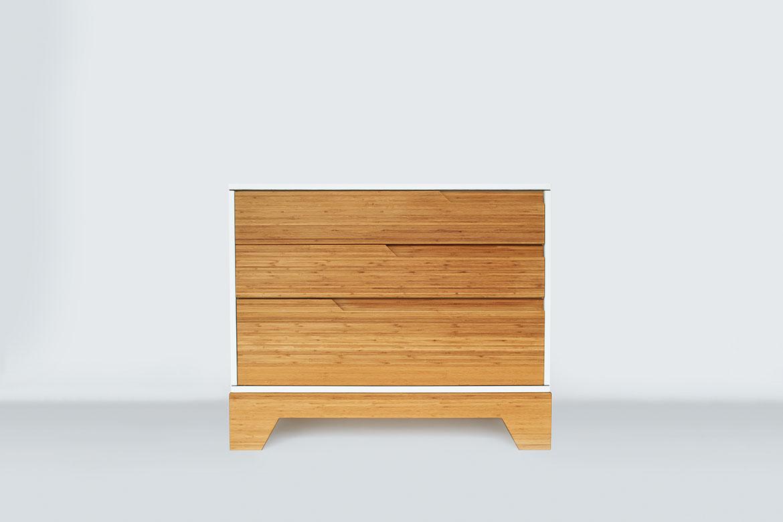 IoLine solid bamboo dresser