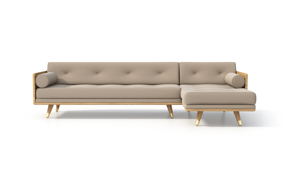 No.5 Series Sectional in Beige