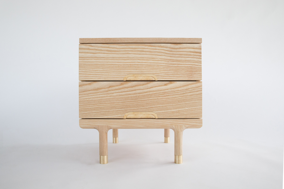 Simple Side Table front view