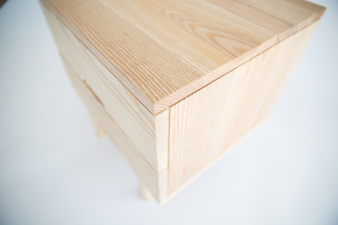 simple side table top view