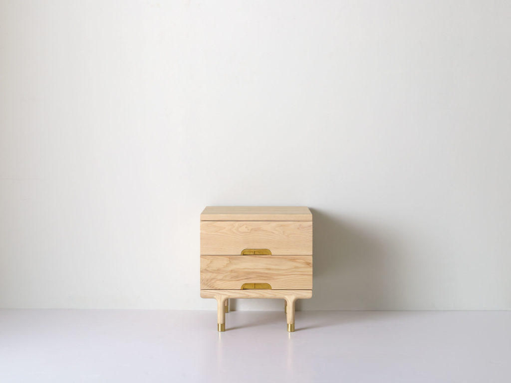 Simple Side Table Ash