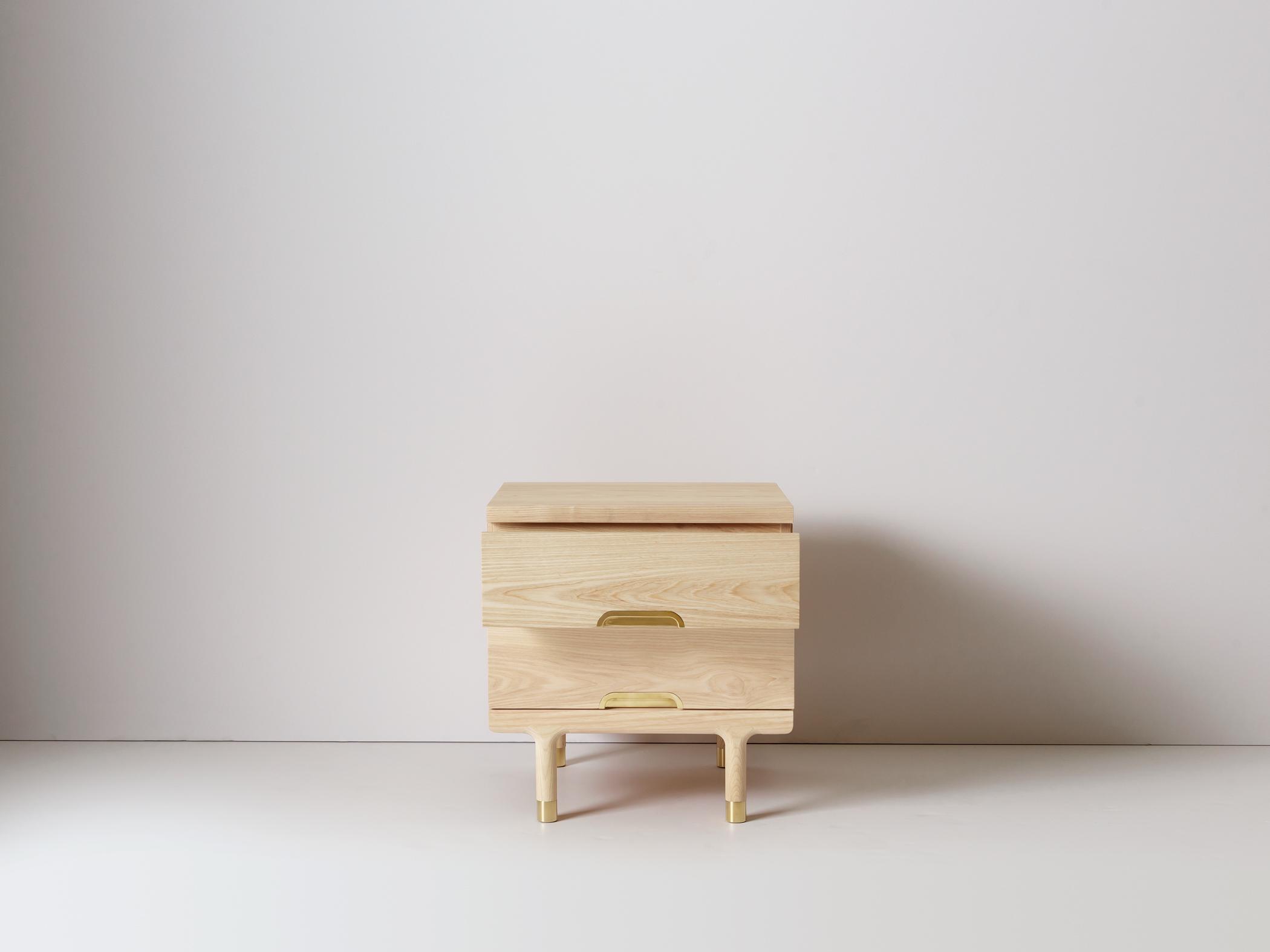 Simple Side Table Modern Side Table Or Nightstand Kalon Studios Us