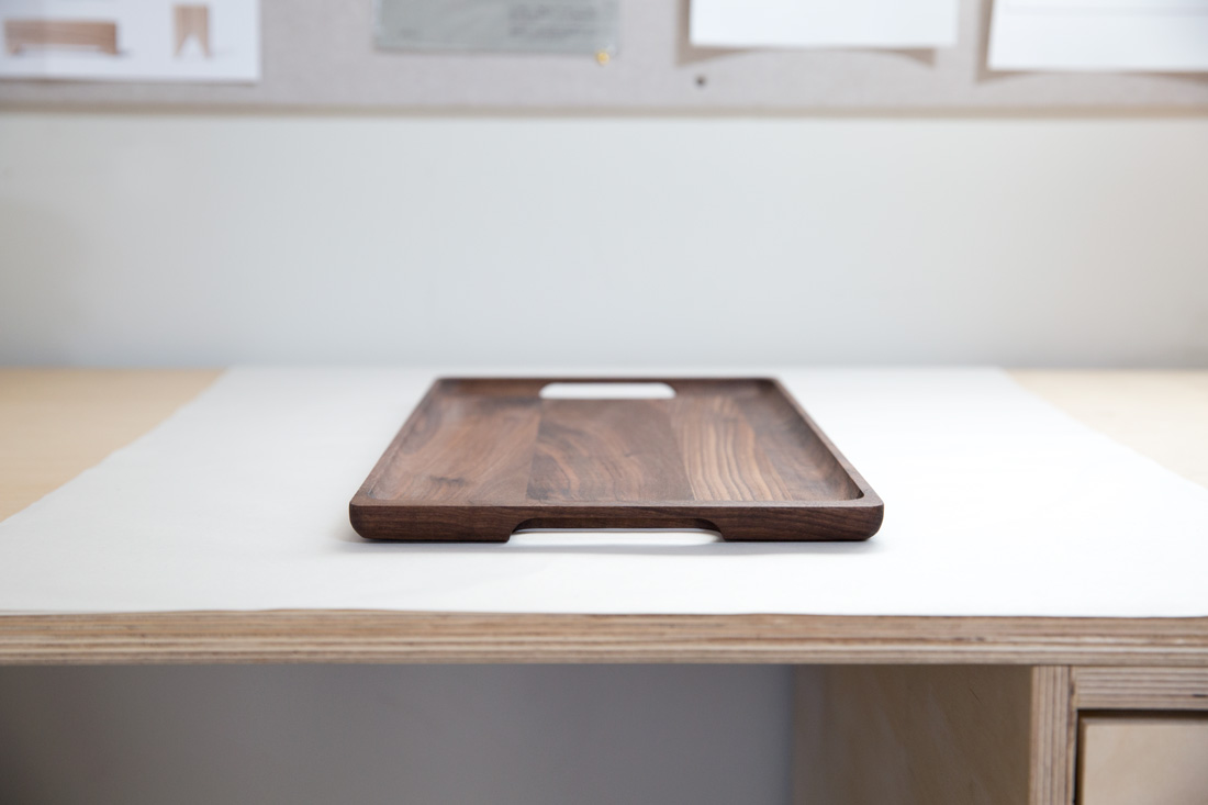 Large Tray in Black Walnut