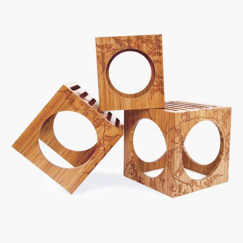 3Blocks Bamboo Fern Engraving