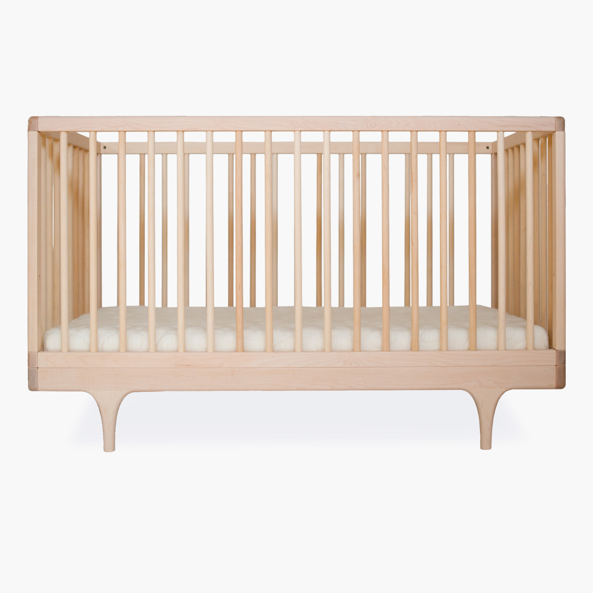 Caravan Crib - Modern Solid Wood Convertible Crib