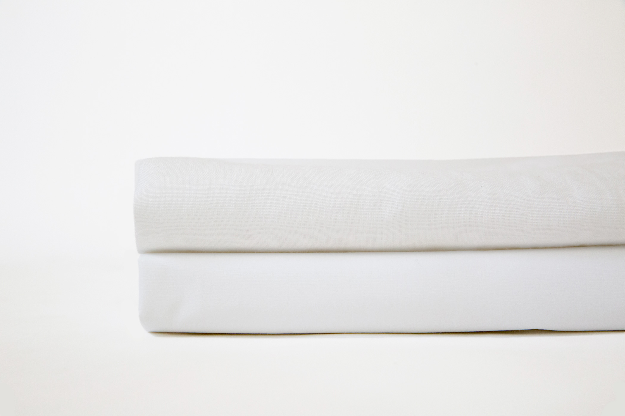 Linen and percale sheets